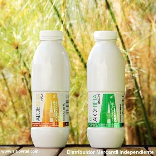 aloe beta supreme piña x 960 ml (orgánico)