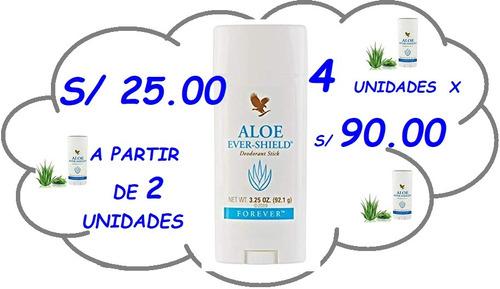 aloe ever shield - desodorante forever sin sales de aluminio