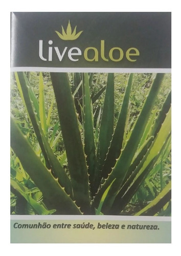 aloe vera babosa catalogo produtos live aloe em pdf