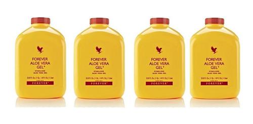 aloe vera gel puro forever original kit  4