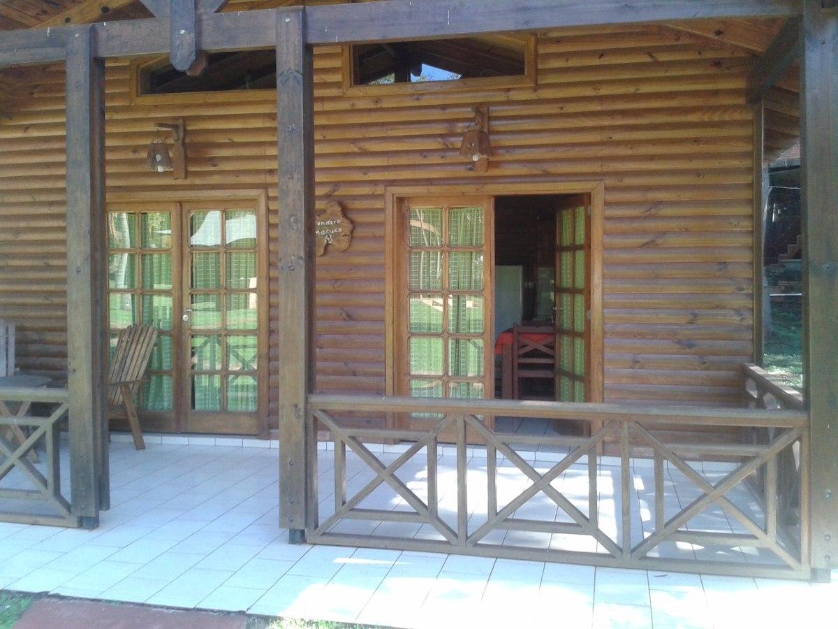 alojamiento cabañas - casas -depatos en iguazu cataratas