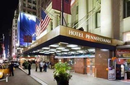 alojamiento en el fantástico hotel pensylvania en nueva york
