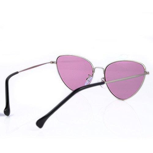 812f4720b8 Alondra Kolt Gafas De Sol Con Montura De Metal Cat Vibes - $ 27.990 ...