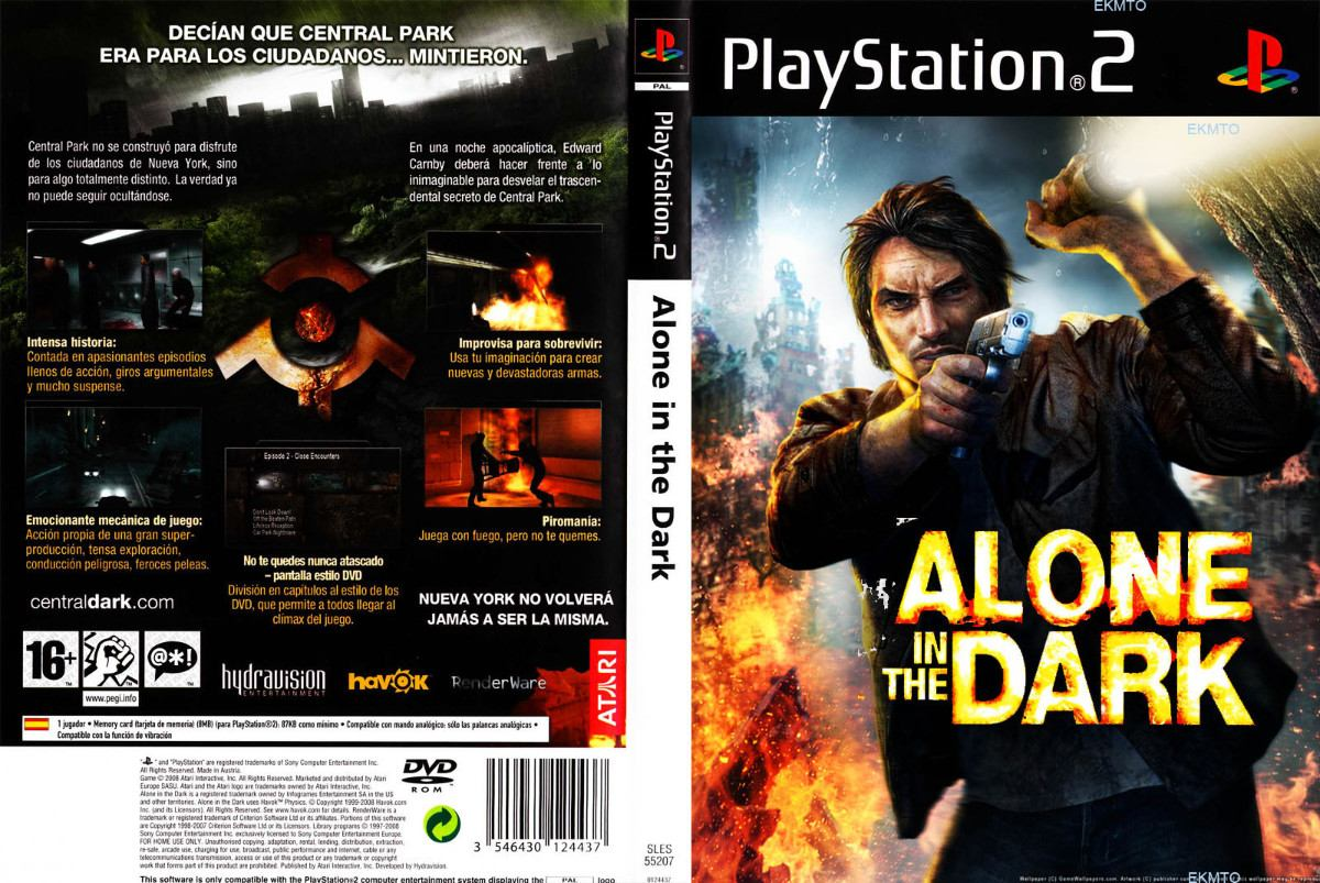 Alone In The Dark Ps2 Gameplay
