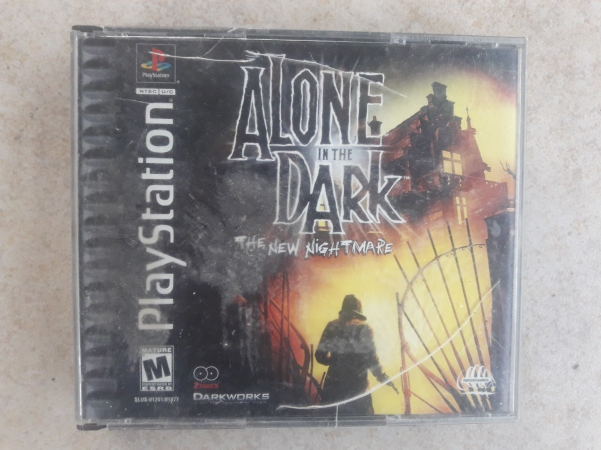 Alone In The Dark The New Nightmare Playstation 1 Juego Ps1