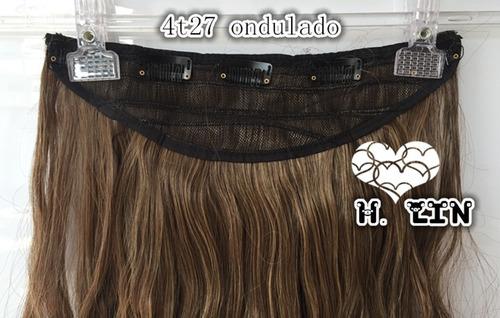 alongamento 2/27 tic tac californiana ombré hair liso 60cm