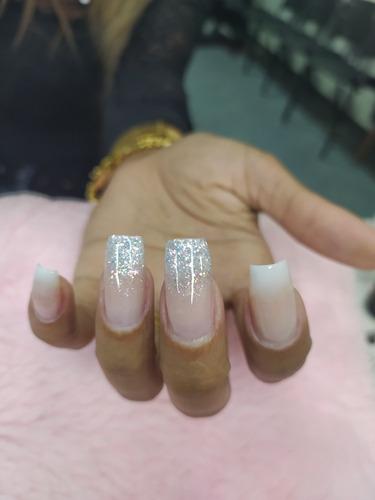 alongamento de fibra de vidro