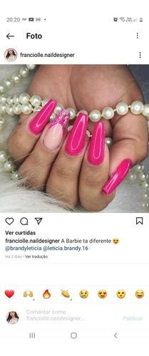 alongamentos de unhas