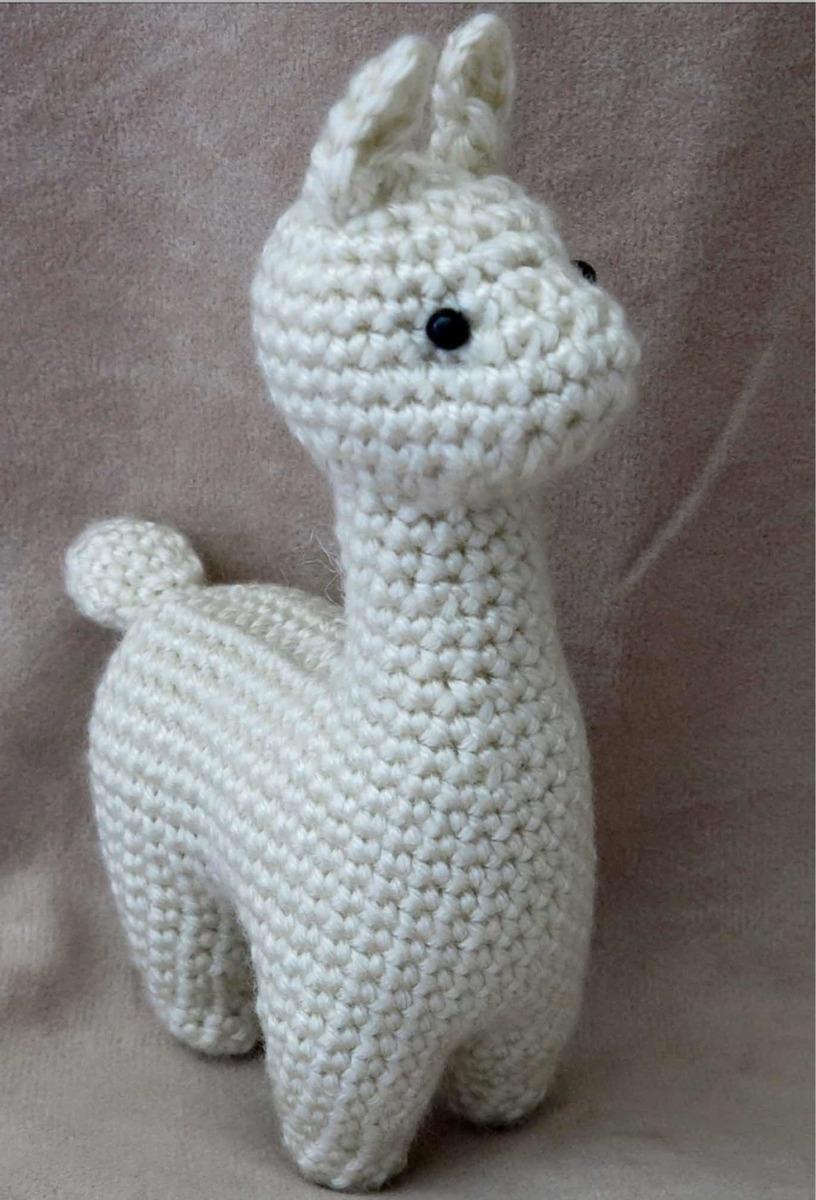 Alpaca Crochet Amigurumi Pattern - Sir Purl Grey | 1200x816