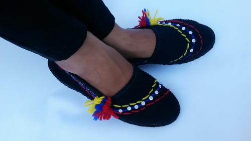 alpargata cocuiza tricolor zapatos bandera venezuela