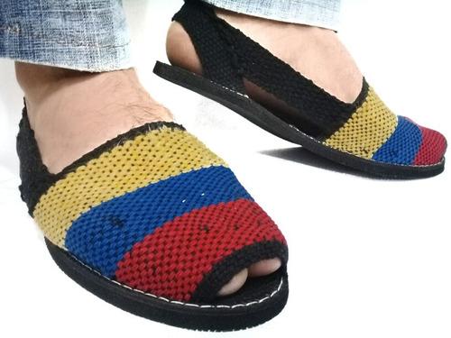 alpargata de la bandera, tricolor de venezuela cocuizas hilo