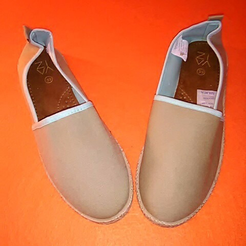 alpargata de yute. calzado cómodo de mujer