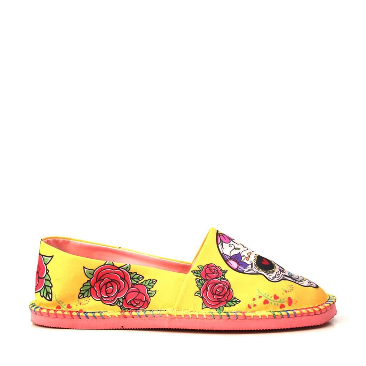 86c9e0986 Alpargata Fresh Caveira - Cup Shoes - R$ 89,90 em Mercado Livre