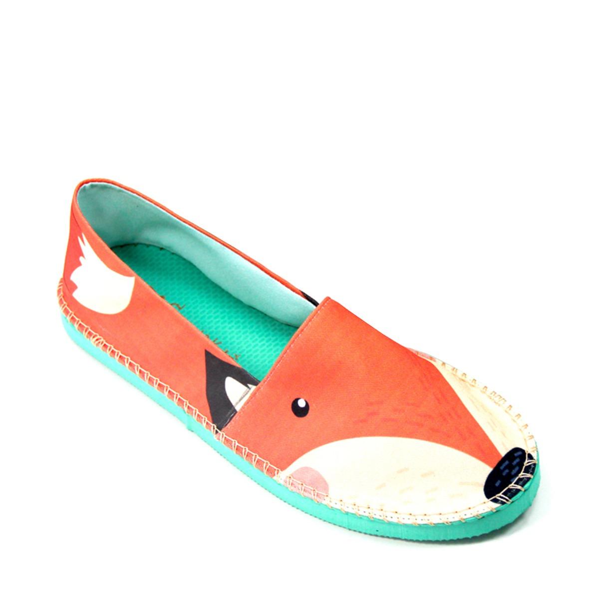 8a0923f3b Alpargata Puppy Fox (raposa) - Cup Shoes - R$ 89,90 em Mercado Livre