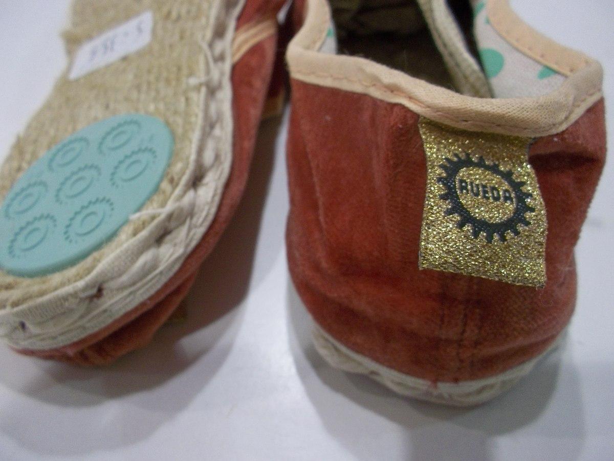 alpargata rueda sport lyra mujer original de fabrica