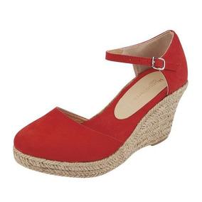 Rojo México Yute Mercado En Libre Zapatos Igb7mv6fyY