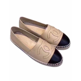 288838f98b Sapatilha Chanel Bicolor - Sapatos para Feminino Marrom no Mercado ...