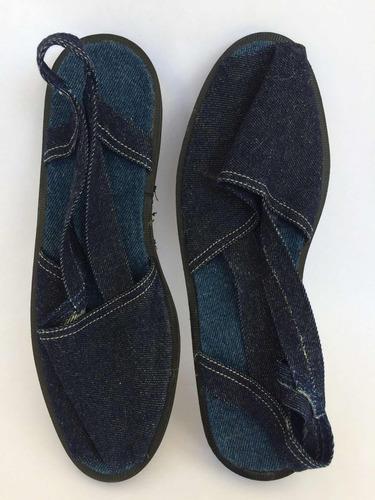 alpargatas de blue jeans unisex