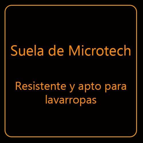 alpargatas gaucho suela microtech simil yute varios colores