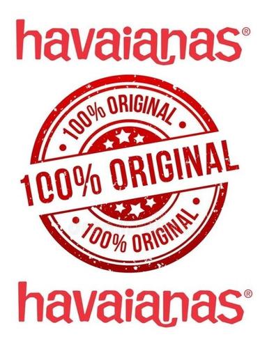 alpargatas havaianas 100% original