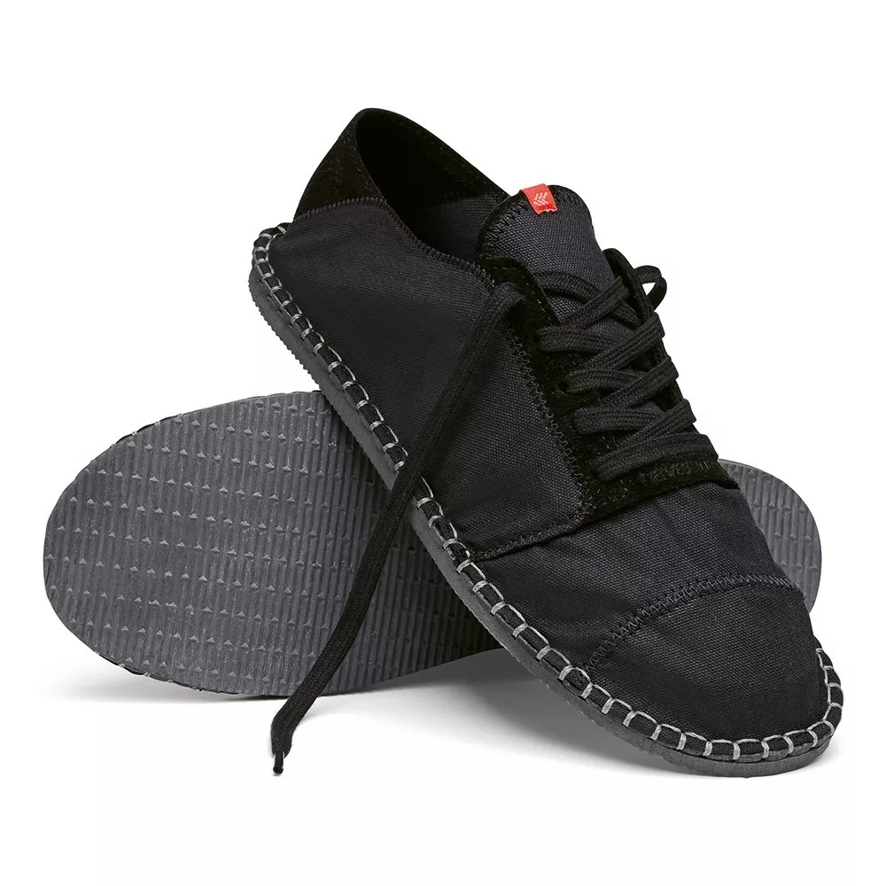 eafdc8a02 alpargatas havaianas origine sneaker iii preto - tenis. Carregando zoom.