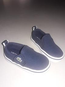 buty skate gładki gorąca wyprzedaż Alpargatas Lacoste Niño Talle 19