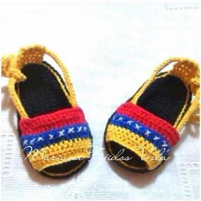 e99a2166f Alpargatas Para Bebes Tejidos A Crochet Venezuela Zapatos