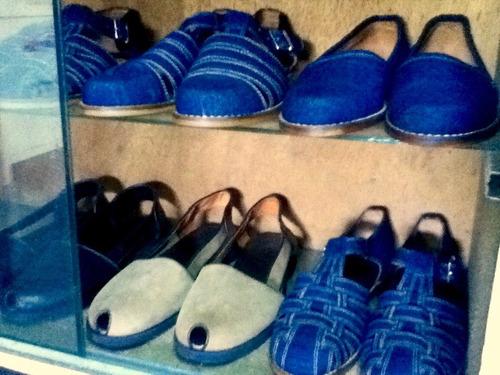 alpargatas sandalias zapatos de piel a la medida unisex