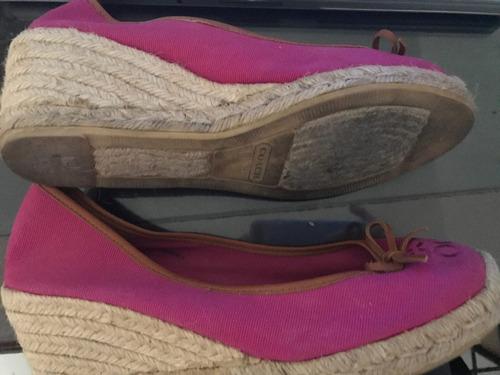 alpargatas usadas sin caja marca coach talle 27 mexicano