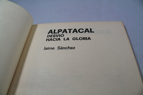 alpatacal jaime sanchez