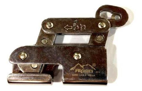 alpen wstop8mm freno arrestador anticaidas para cable 8 mm