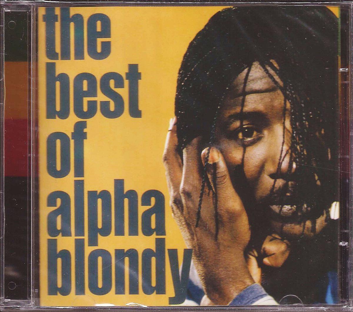 Alpha Blondy Cd The Best Of Novo Original Lacrado R 24 90 Em
