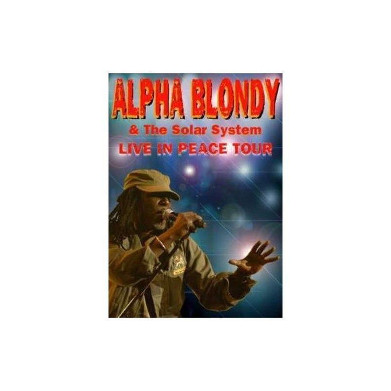 dvd alpha blondy live in peace tour
