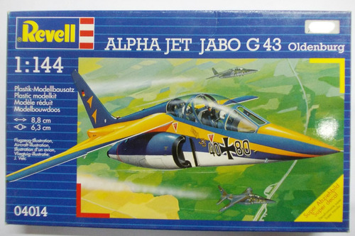 alpha jet jabo g43  escala 1/144 revell