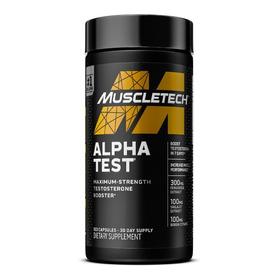 Alpha Test Precursor Testosterona 120 Caps - Muscletech