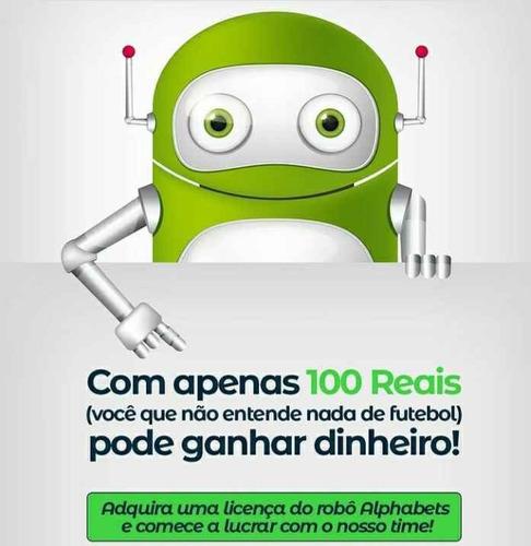 alphabets - robô de investimento! rendimento diário