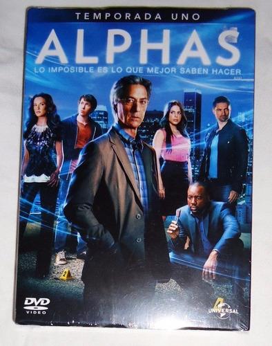 alphas paquete temporadas 1 uno y 2 dos dvd