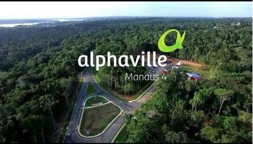 alphaville 04, lote residencial, ponta negra - te0022