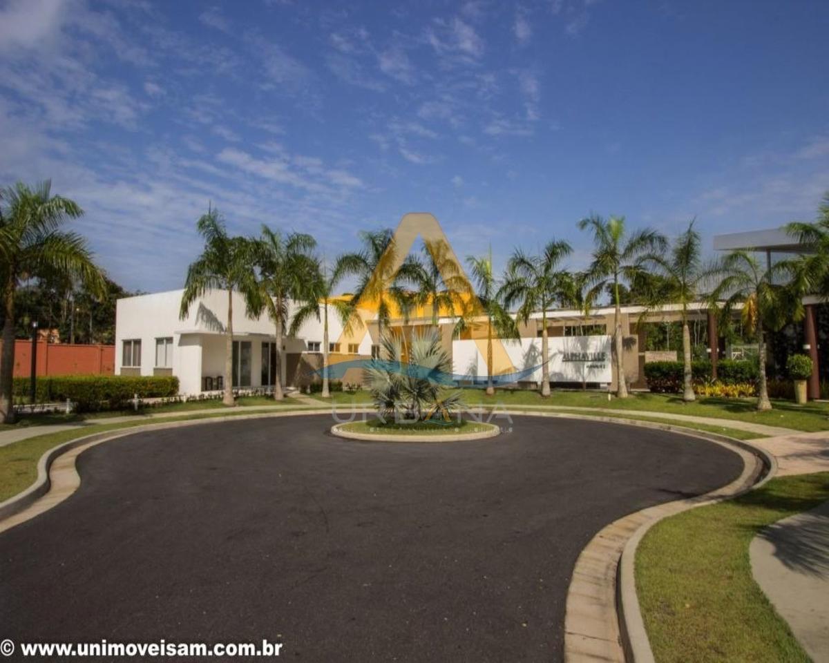 alphaville manaus 2, área de 458,00 m², infraestrutura, ponta negra, manaus - te00027 - 3095956