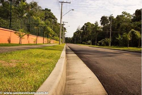 alphaville manaus 2, lote de esquina com área 790 m²,  ponta negra, manaus / am. - te00140 - 32359513