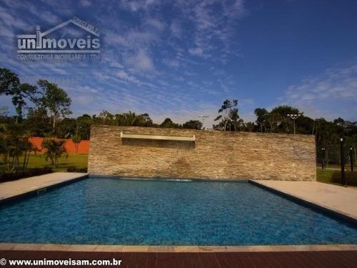 alphaville manaus 2, terreno a venda de  481,00 m², ponta negra, manaus - te00089 - 4353905
