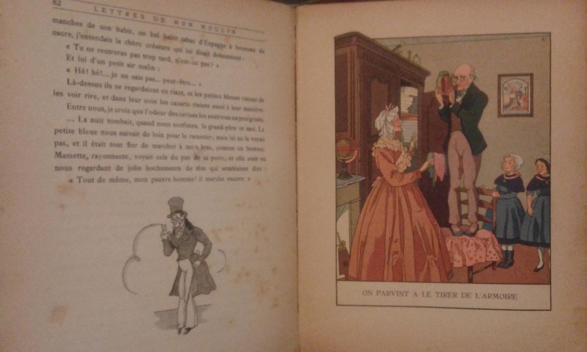 Alphonse Daudet Lettres De Mon Moulin Contes Du Lundi 10000