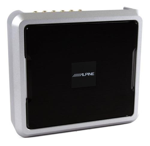 alpine pxe-0850s procesador digital de audio, 12 preout (4v)