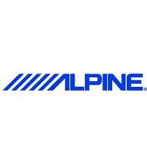 alpine sxe1725s parlantes de puerta 6 1/2  40w rms