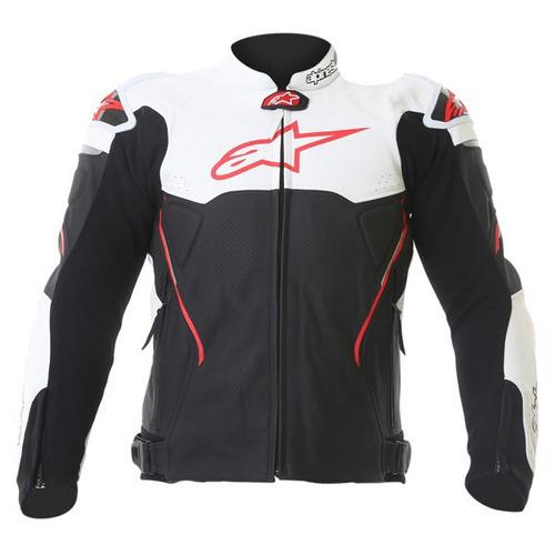 alpinestar atem leather jacket con joroba | talle: 54