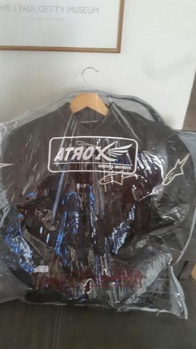 alpinestar   gp pro perforated leather jacket black