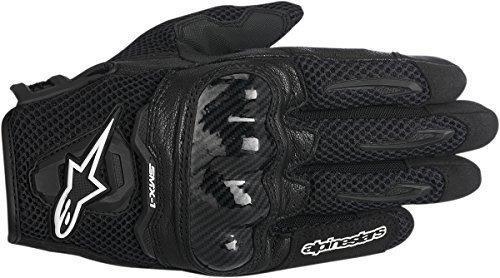 alpinestars smx-1 air hombres motos guantes - negro - grande