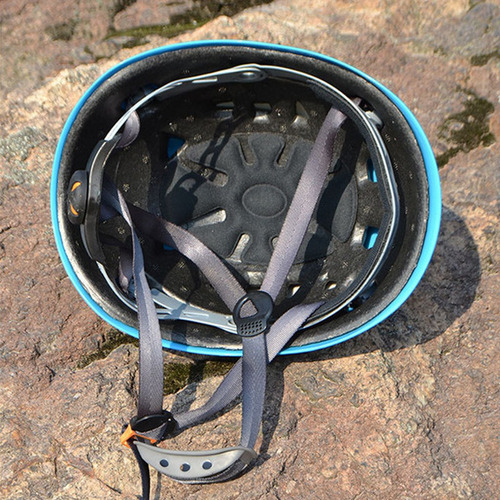 alpinista casco al aire libre seguridad climbing rappelling