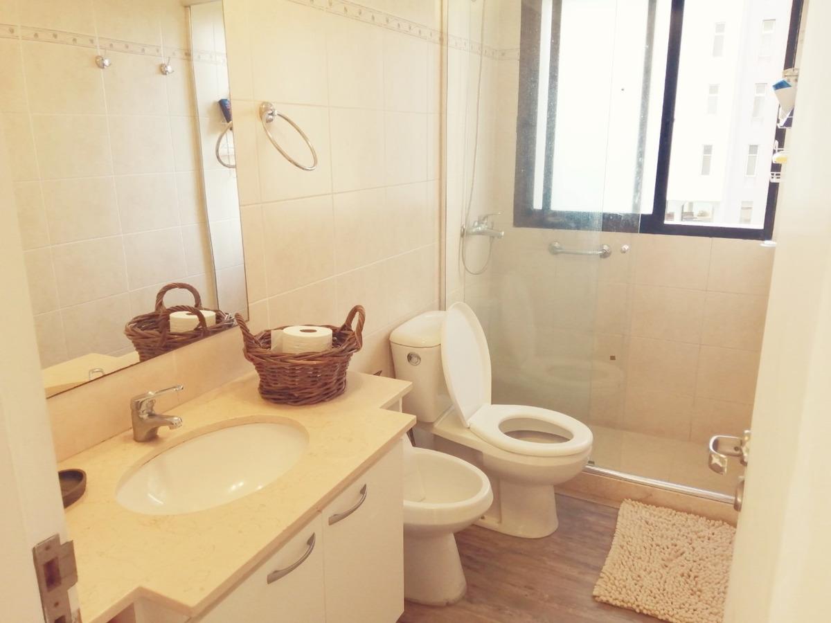 alq invernal, roosvelt, dormitorio, baño y garaje ref 1467
