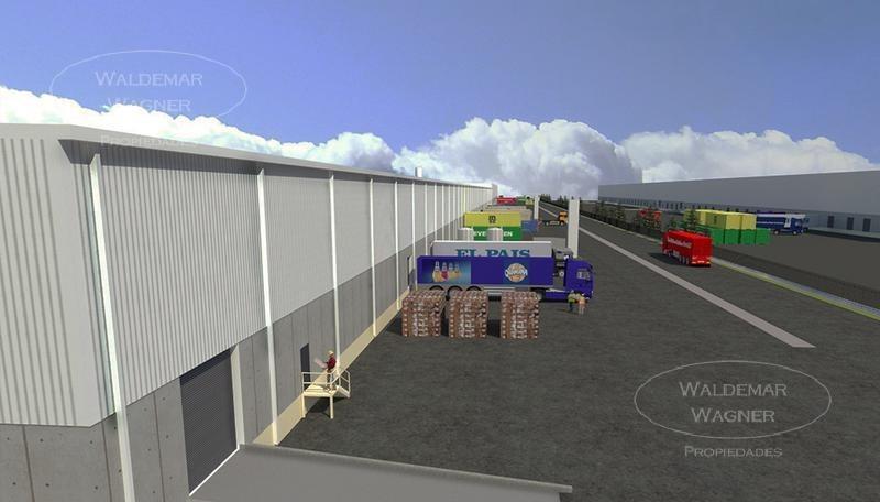 alq nave industrial - centro logístico pachecho